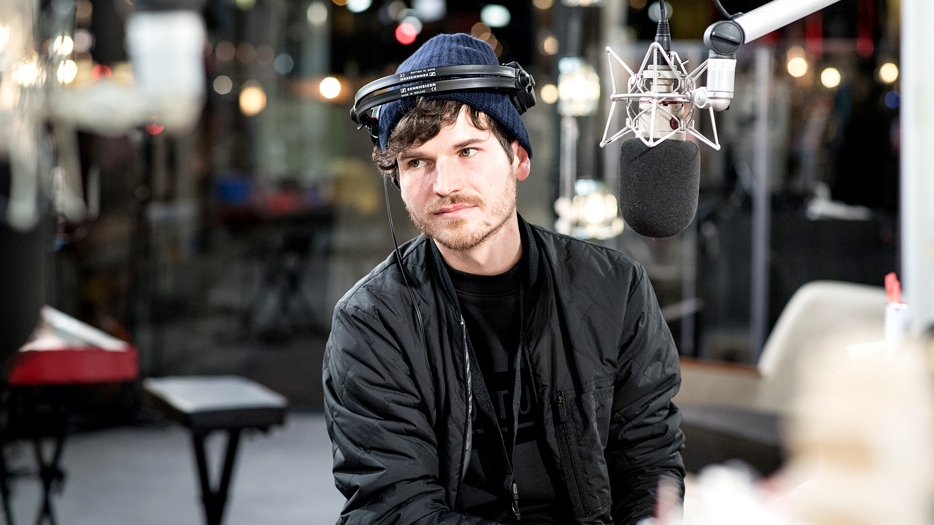 James Gruntz live in der Glasbox: «Speechless»
