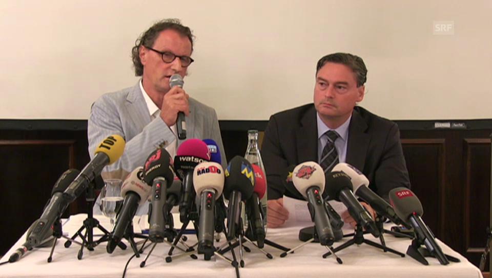 Geri Müller PK: «Ich schäme mich»