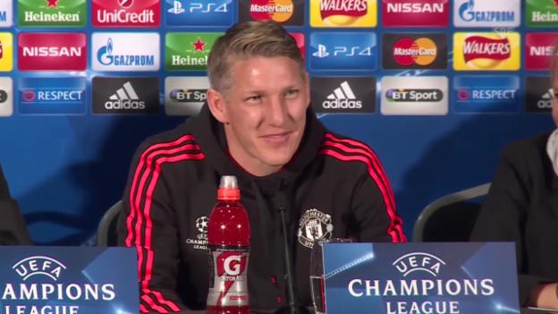 Video «Fussball: Schweinsteiger zu Rooneys Akzent» abspielen