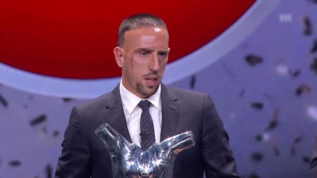 Video «Die Wahl von Franck Ribéry» abspielen