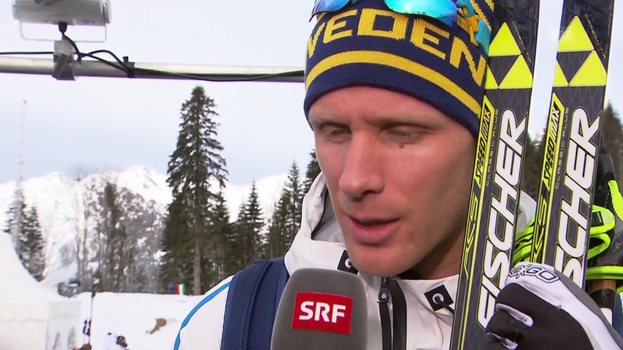 Langlauf: Interview mit Daniel Richardsson (sotschi direkt, 14.2.2014)
