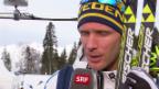 Video «Langlauf: Interview mit Daniel Richardsson (sotschi direkt, 14.2.2014)» abspielen