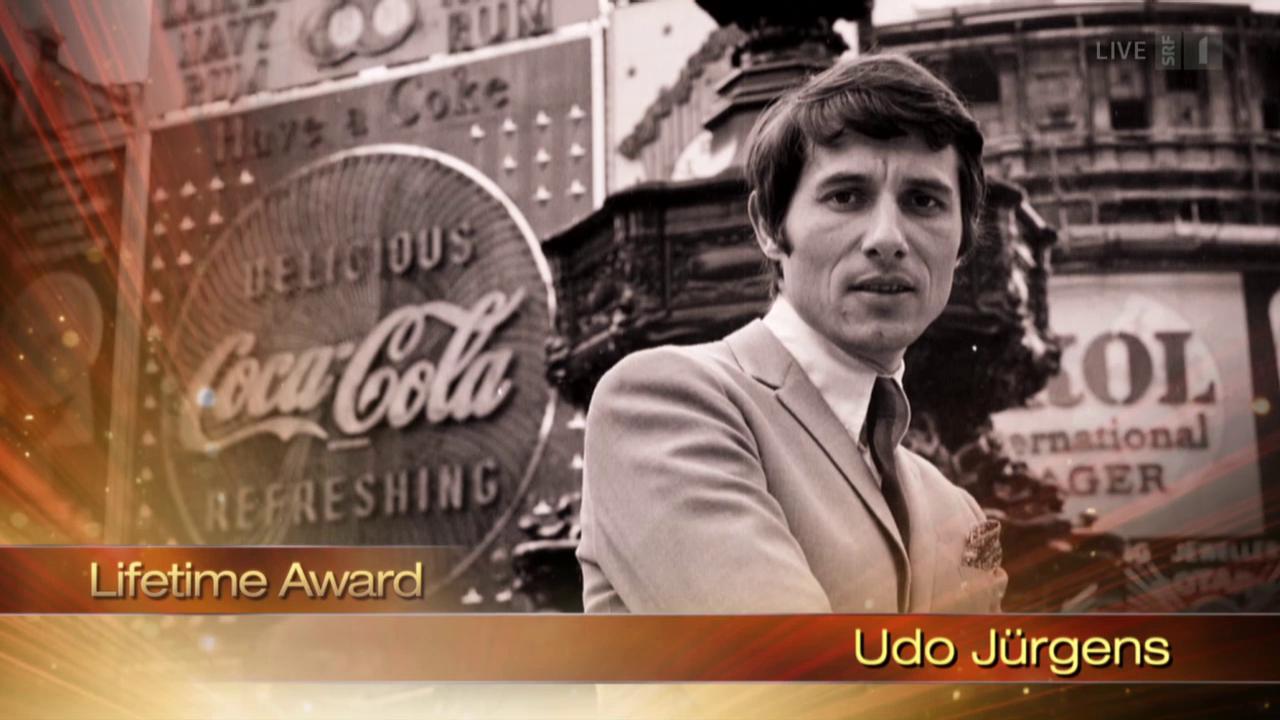 Udo Jürgens - «LifeTime Award»-Gewinner
