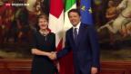 Video «Sommaruga zu Gast bei Renzi» abspielen