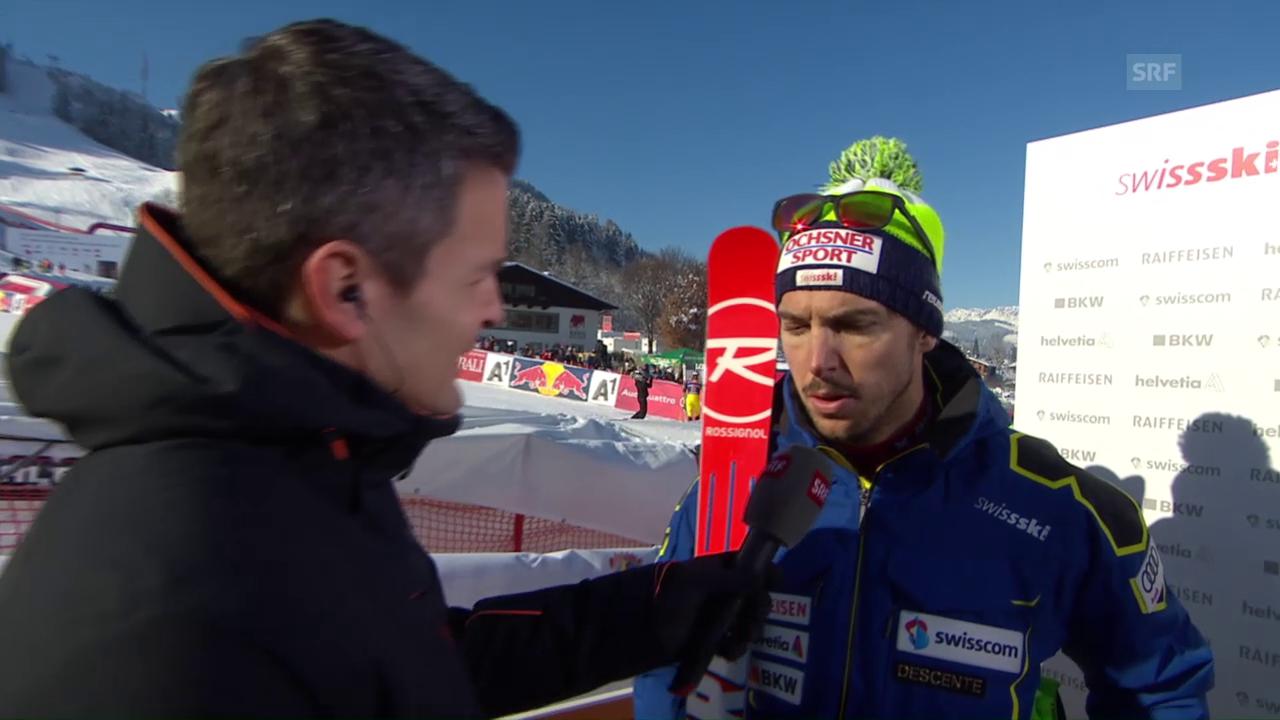 Janka: «Wenn die Skier sich überkreuzen läuft es meistens dumm.»