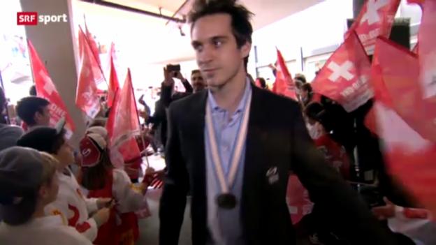 Video «Eishockey-WM: Rückkehr der Nati» abspielen