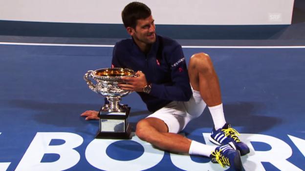 Video «Wo bleiben die Jungen? Die Tennis-Weltspitze in der Analyse» abspielen