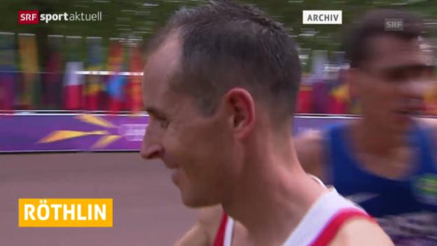 Video «Marathon: Viktor Röthlin verzichtet auf Marathon in Fukuoka («sportaktuell»)» abspielen