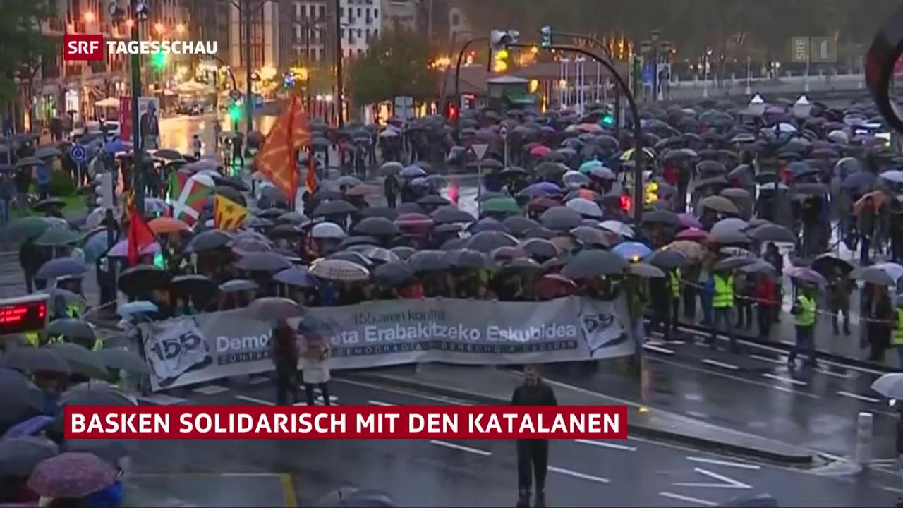 Baskenland solidarisch mit Katalonien