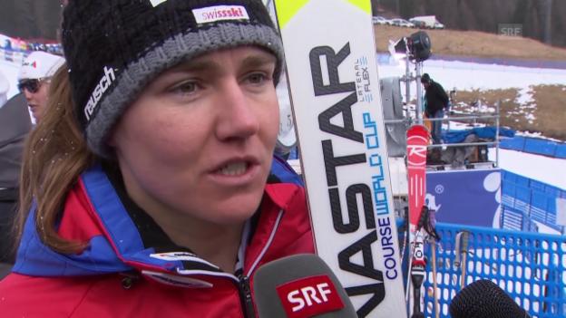 Video «Ski alpin: Fabienne Suter im Interview» abspielen
