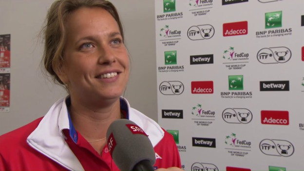 Video «Interview mit Barbora Strycova» abspielen