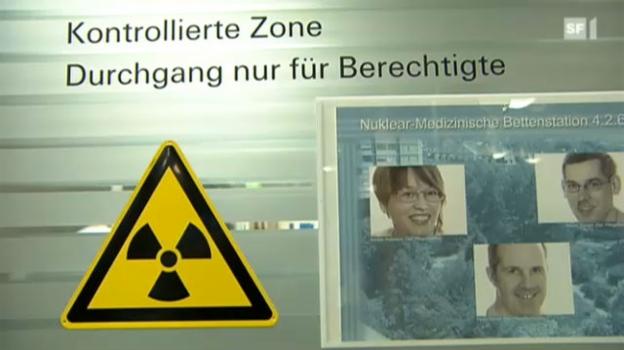 Video «Mit radioaktiven Strahlen Tumorzellen von innen zerstören» abspielen