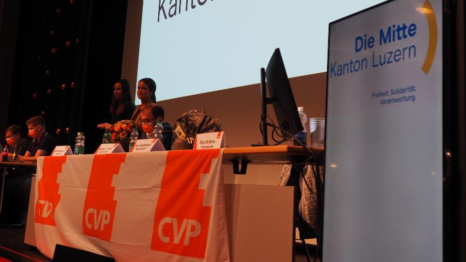Von der CVP zu «Die Mitte»: Die Delegiertenversammlung in Hochdorf