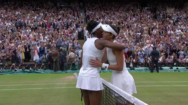 Video «Garbine Muguruza stürmt zum 1. Wimbledon-Titel» abspielen