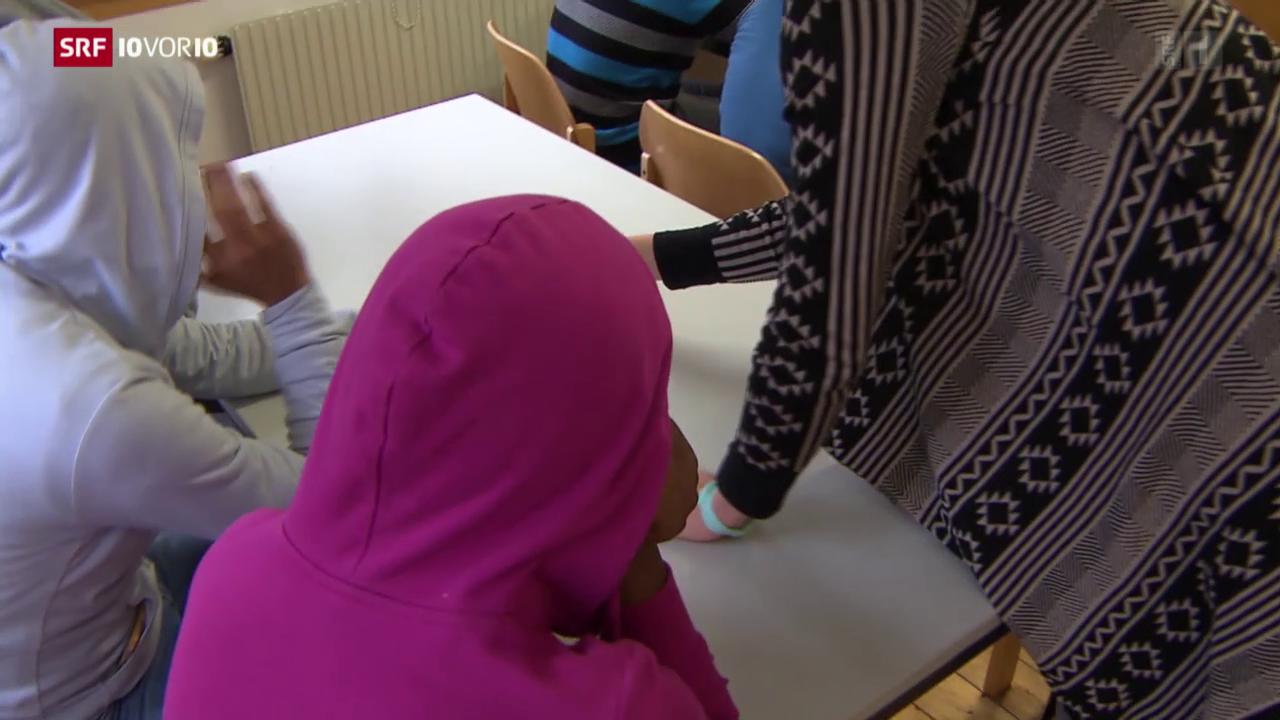 Minderjährige Flüchtlinge tauchen unter