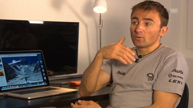 Video «Ueli Steck spricht über den Eklat am Mount Everest» abspielen