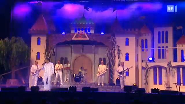 Mit dem Nockalm Quintett im Hallenstadion