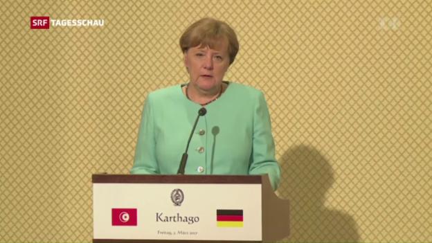 Video «Ton zwischen Berlin und Ankara schärfer» abspielen