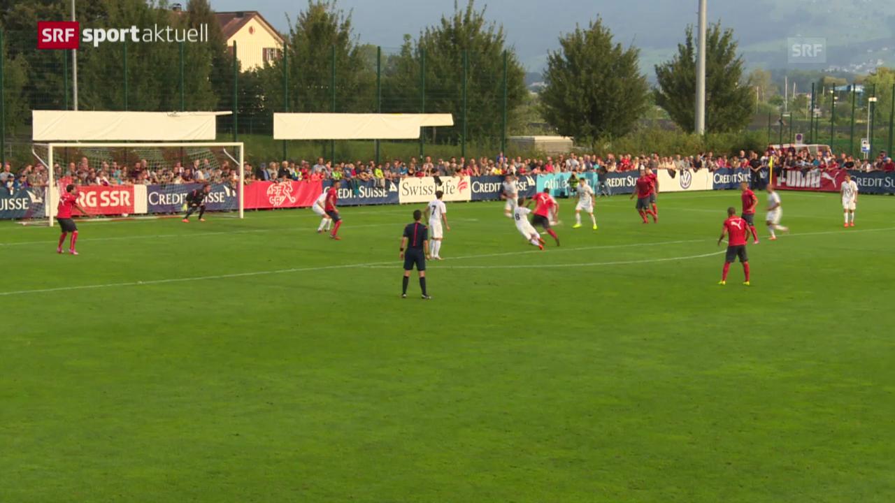 Fussball: Schweizer Nati testet gegen Rapperswil-Jona
