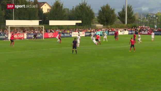 Video «Fussball: Schweizer Nati testet gegen Rapperswil-Jona» abspielen