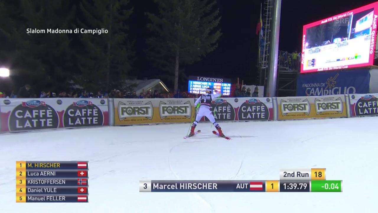 Marcel Hirschers Siegesfahrt