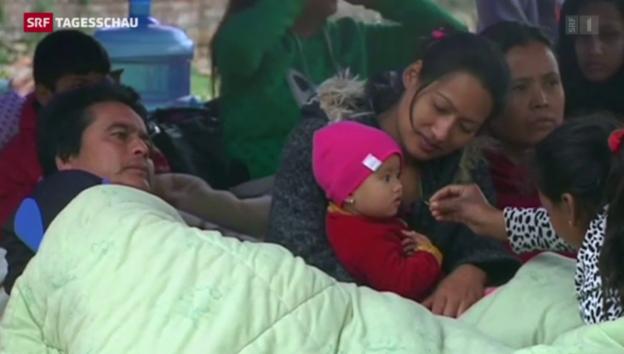 Video «Aktuelle Situation in Nepal» abspielen