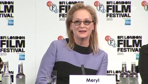 Video «Meryl Streep über Feminismus» abspielen