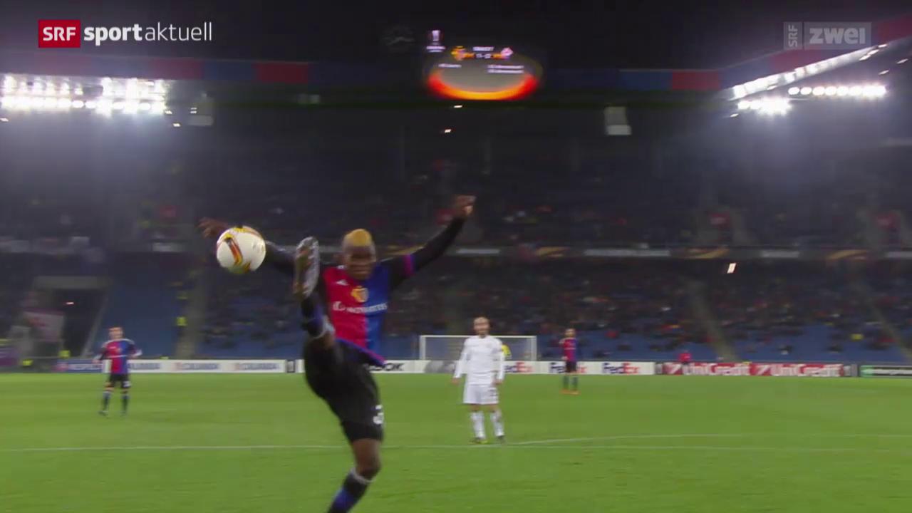 Fussball: Basel - Fiorentina
