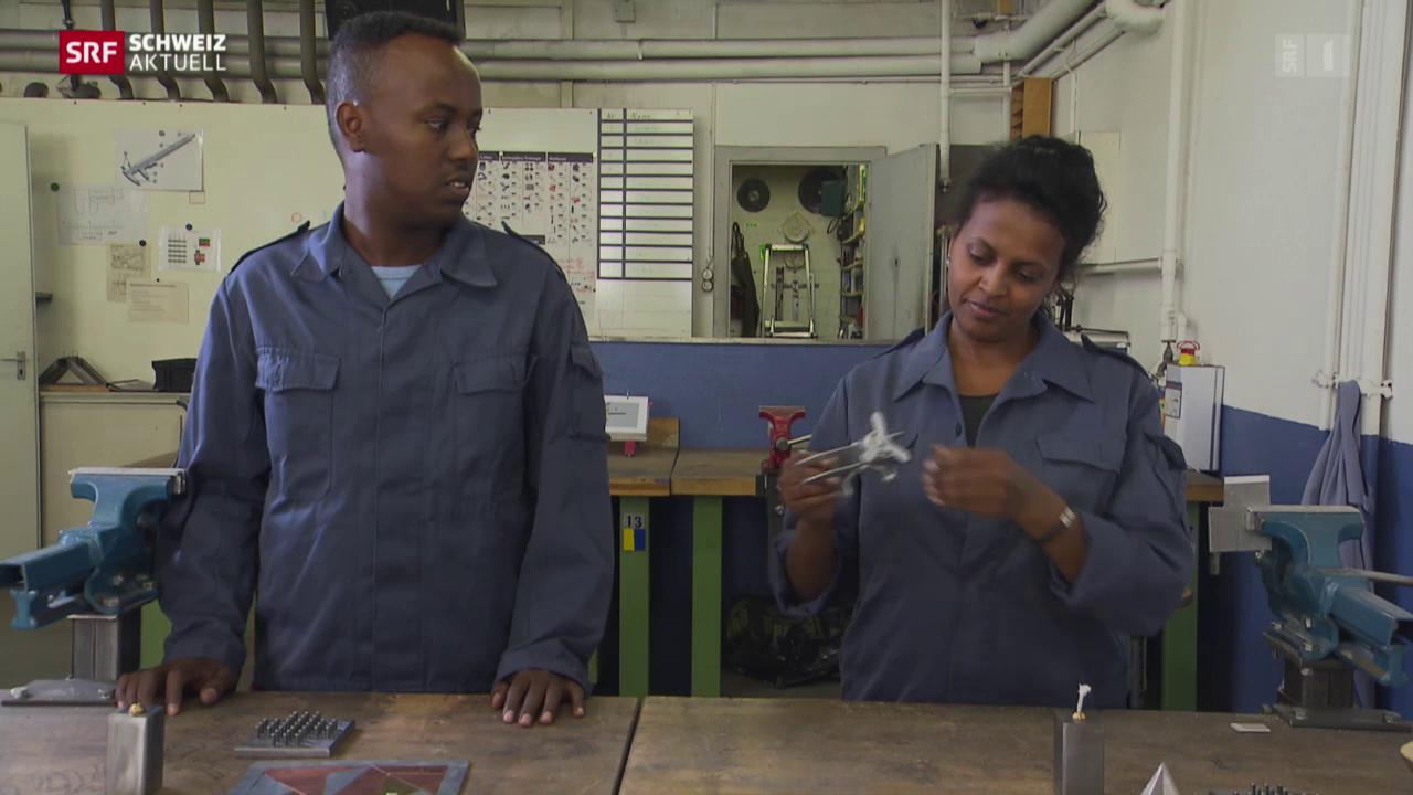 Erste Erfolge auf der Jobsuche für Berner Flüchtlinge