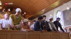 Video «Lateinischer Gottesdienst, Körperhygiene und das lädierte Knie» abspielen