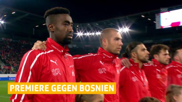 Video «Fussball: Die Nati testet erstmals gegen Bosnien-Herzegowina» abspielen
