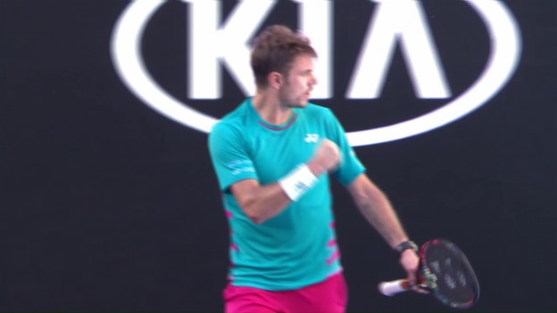 Video «Livehighlights Wawrinka - Seppi» abspielen