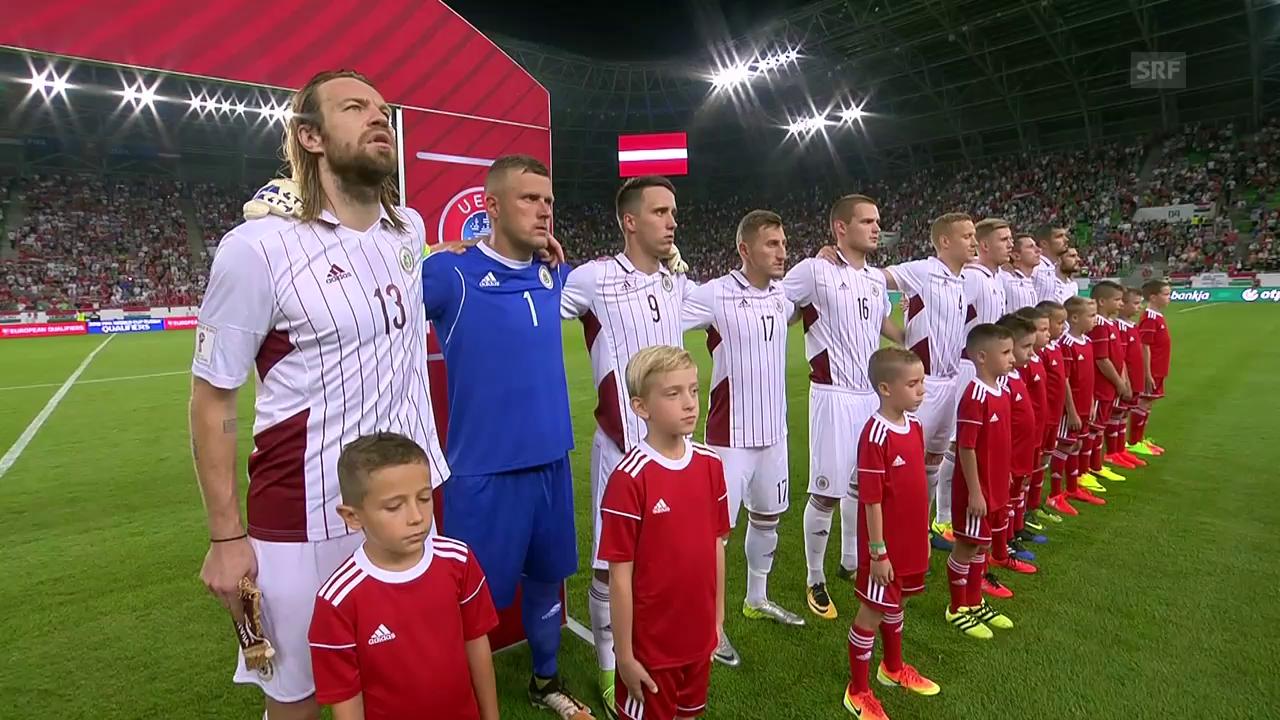 Zusammenfassung Ungarn-Lettland