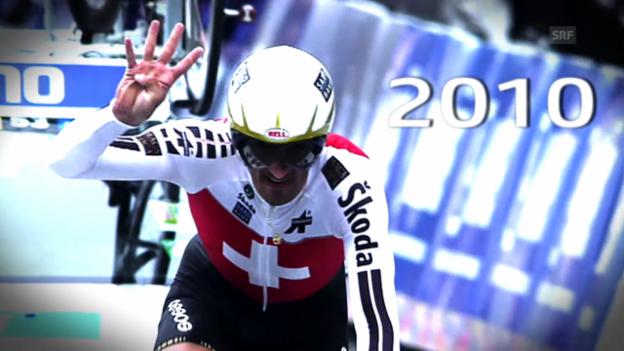 Video «Rad: Die Erfolge von Fabian Cancellara im Zeitfahren» abspielen
