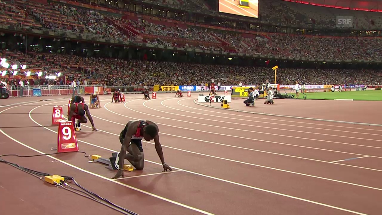 LA: WM Peking, 400-m-Final der Männer