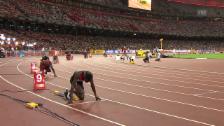 Video «LA: WM Peking, 400-m-Final der Männer» abspielen