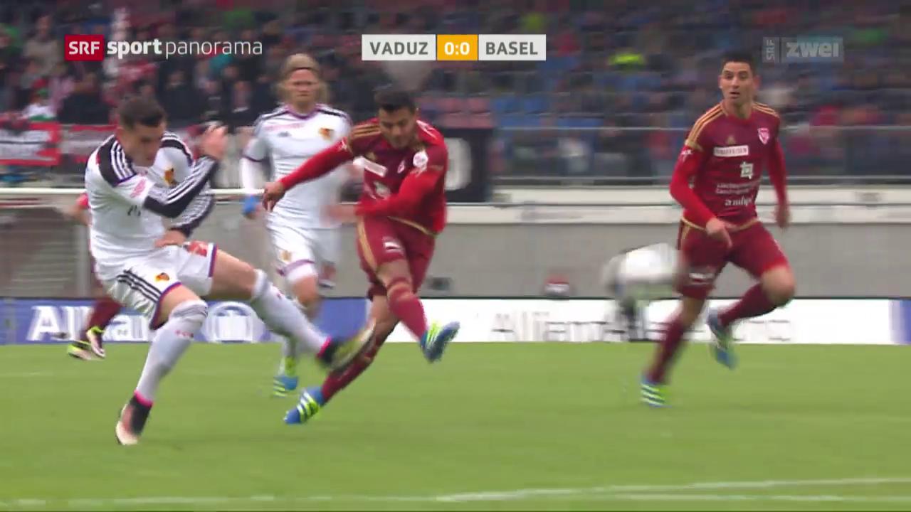 Vaduz trotzt dem FCB einen Punkt ab