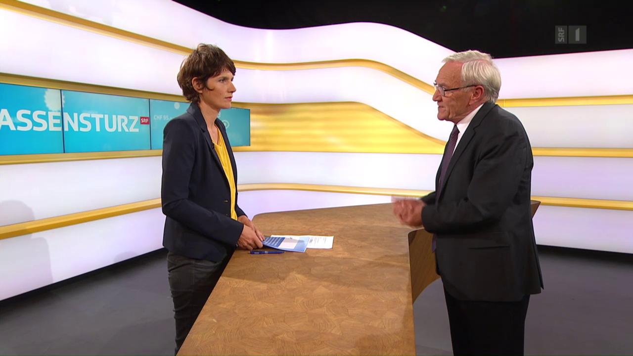 Studiogespräch mit Dieter Conen, Stiftung Patientensicherheit Schweiz