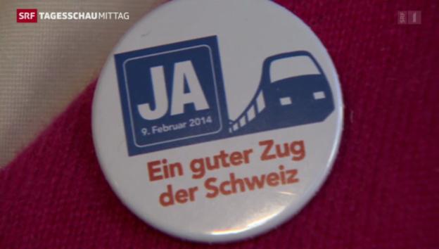 Video «Ausbau der Eisenbahninfrastruktur» abspielen