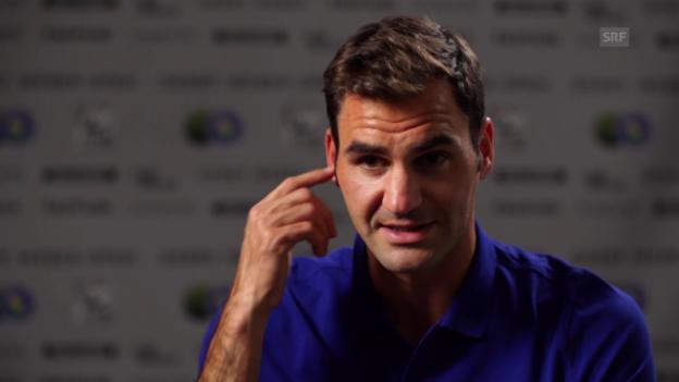 Video «Federer: «Im Training fühle ich mich wunderbar»» abspielen