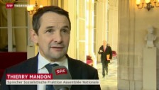 Video «Politische Reaktionen aus Frankreich» abspielen