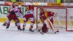 Video «Die SCL Tigers brechen gegen Lausanne ein» abspielen