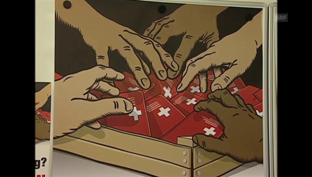 Video «2004: Die SVP lanciert den Abstimmungskampf» abspielen