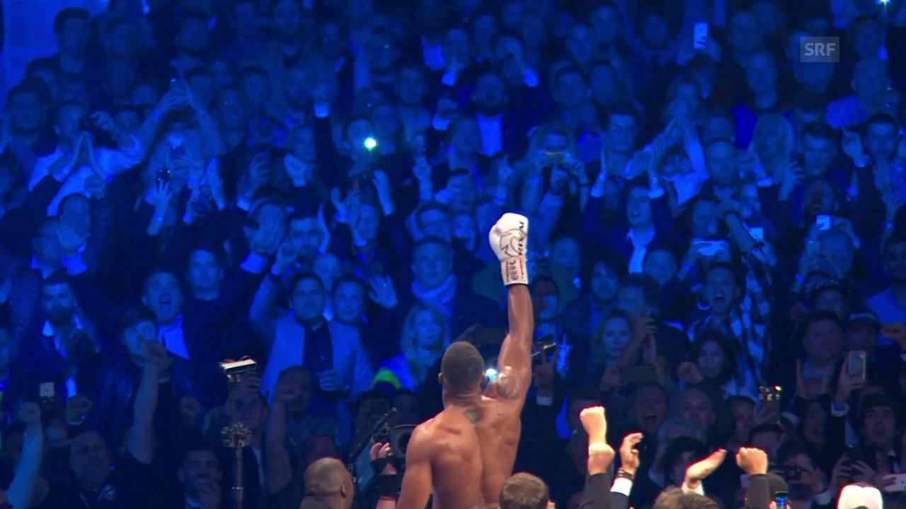 Joshua vs. Klitschko: Jugend schlägt Routine