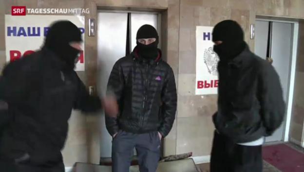 Video «Separatisten leisten weiter Widerstand» abspielen