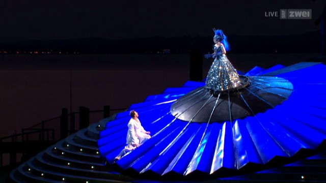 «Zauberflöte» in Bregenz: das Opernspektakel in voller Länge