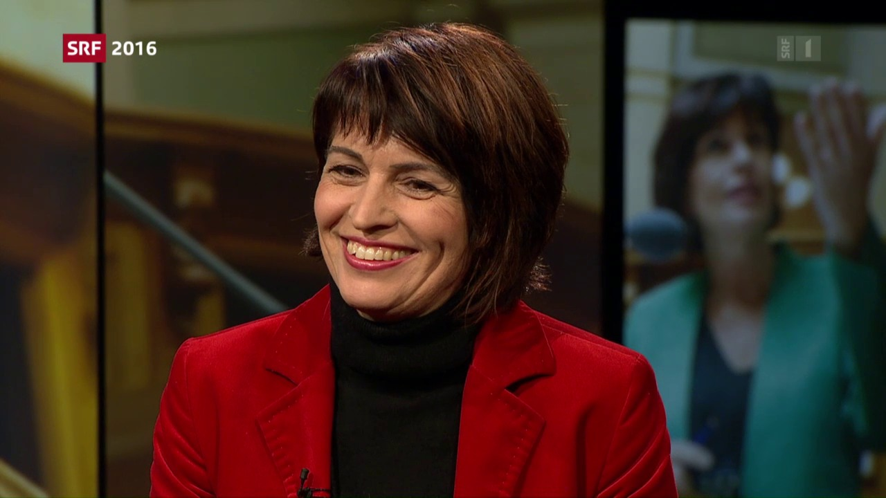 Doris Leuthard im Interview