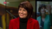 Video «Doris Leuthard im Interview» abspielen