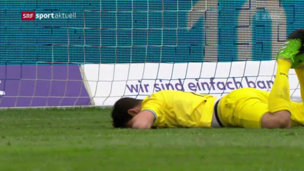 Video «St. Galler Baisse hält auch in Luzern an» abspielen