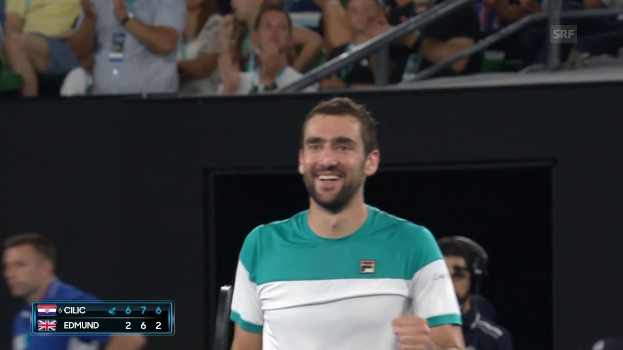 Cilic zieht in den Australian-Open-Final ein